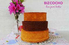 El jardín de mis recetas: BIZCOCHO BASE PARA TARTAS