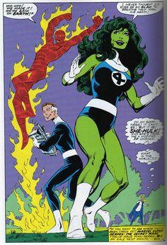 she hulk BY BYRNE