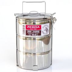 Stainless Steel Food Carrier  3 Tier 12 Cm ** See this awesome image @