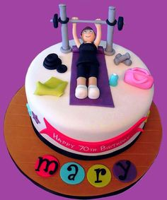 Women Squat Cake