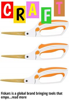 (This is an affiliate pin) Fiskars is a global brand bringing tools that empower people in the garden, home, office, and classroom. Our tools are smarter and easier to use. Sold as 3 Pack