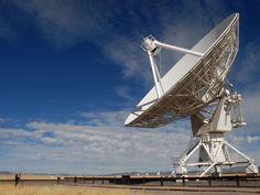 A Big Dish at the VLA Radio Observatory