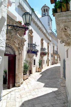Locorotondo, Apulia, Italy.