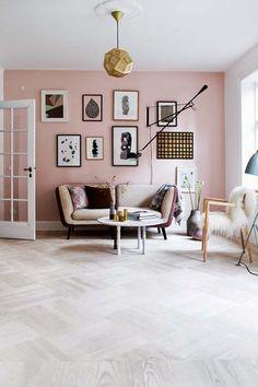 Veja algumas inspirações para usar a cor pantone de 2016, Rose Quartz, nos ambientes da sua casa, deixando-a mais leve e delicada. Você vai se surpreender.: