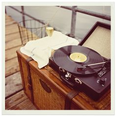 After the vintage Polaroid, my record player was the best gift ever ...