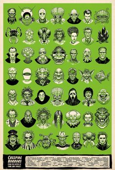 Horror movie characters