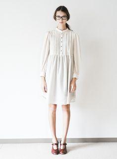 SINDEE 15S/S 「Tuck Plain DRESS」