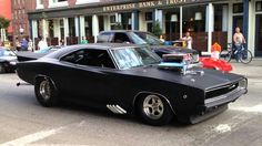 1968 Blown Pro Street Dodge Charger