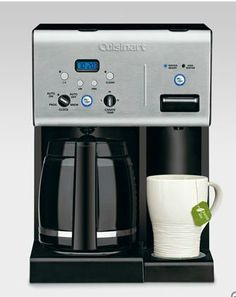 Cuisinart Coffee Maker with Hot Water Dispenser