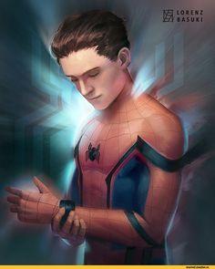 Spider-Man,Человек-Паук, Спайди, Твой дрюжелюбный сосед, Питер Паркер,Marvel,Вселенная Марвел,фэндомы,lorenzbasuki,Spider-Man Homecoming,Человек-паук: Возвращение домой,Marvel Cinematic Universe,Кинематографическая вселенная Марвел