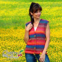 Cherry Tree Hill--JoAnne Turcotte--Self-Striping Vest