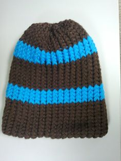 Warm Reversible Knitted Hat by TheCreoleCookie on Etsy, $30.00