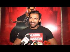 John Abraham at private screening of ROCKY HANDSOME movie.