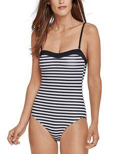 Bekleidung, Damen, Bademode, Badeanzüge Mix Match, Bathing Suits, Bikinis, Swimwear, One Piece, How To Wear, Stuff To Buy, Fashion, Cute Bathing Suits