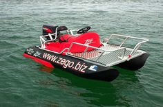 Not a Kayak but close enough. This is such an awesome craft! http://www.zego.biz
