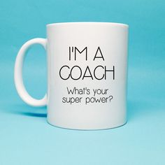 Gift For Coach  Coach Gift  Funny Coffee Mug  by TheCoffeeCorner