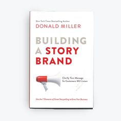 One of my favorite marketing books - Building a Story Brand by Don Miller Build A Story, Feminist Icons, Brand Book, E-mail Marketing, Brand Story, Marketing Materials, Bestselling Author, Brand Identity, Storytelling
