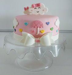 Previsão do tempo: Chuvas de amor para Laurinha. Chuvas de amor. Fondant Figures, Fondant Cakes, Cupcake Cakes, Tortas Baby Shower Niña, Baby Shower Cakes, Birthday Cake Girls, Baby Birthday, Sweet Cakes, Cute Cakes