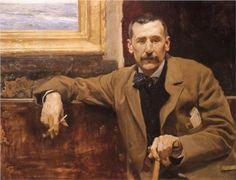 Gran retrato de la época de Benito Pérez Galdós.