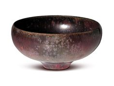 Aubergine Chrystalline bowl by Gertrud and Otto Natzler, is currently for sale at Jeffrey Spahn Gallery.
