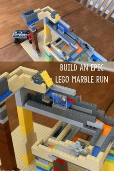 Use your LEGO bricks to create a really awesome marble run. Legos, Lego Lego, Lego Batman, Buy Lego, Lego Minecraft, Minecraft Buildings, Building For Kids, Lego Building, Lego Maze