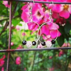 Hey, I found this really awesome Etsy listing at https://www.etsy.com/listing/233540726/hoop-earrings-with-czech-crystal