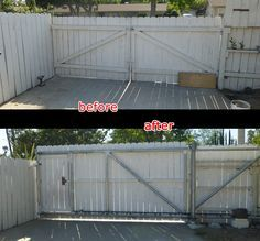 Chain Link Fence Rolling Gate Fence Project Driveway