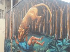 Biblical street art Woodstock Cape Town