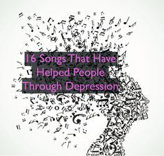 Depression can make everyday tasks seem daunting. Music can't cure depression, but sometimes it feels like it helps. Enjoy these songs (and let us know if you'd like to add one to the next list). #mighty #depression #music\