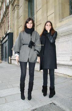 Emmanuelle Alt & Capucine Safyurtlu