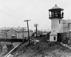 Sing Sing Prison Observation Tower With Guard 1930s Reprint 8x10 Old Photo