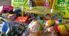 Children's toys are potentially dangerous or toxic items. - Info