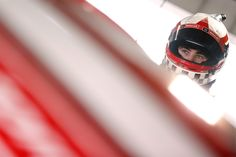At-track photos: Friday at Martinsville Saturday, April 2, 2016 Ryan Blaney, driver of the No. 21 Motorcraft/Quick Lane Tire & Auto Center Ford, stands in the garage area during practice for the NASCAR Sprint Cup Series STP 500 at Martinsville Speedway. Photo Credit: Photo by Brian Lawdermilk/Getty Images