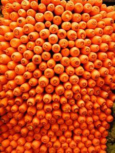 zanahorias... ¡naranjas!