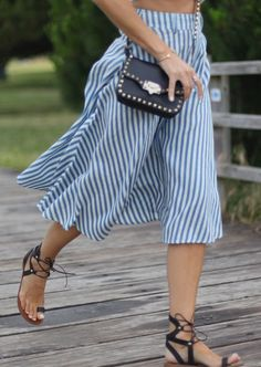 In love with … midi skirts