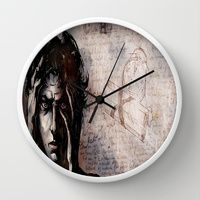 """Wall Clock featuring """"CH"""" Cluster Headache by Arte Cluster - Now $24 - All benefits go to Education, Awareness & Research of Cluster Headaches"""