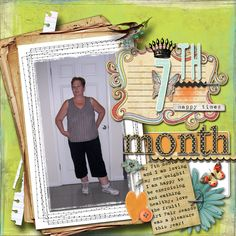 7th Month Weight Loss - Scrapbook.com