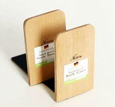 1Pair Luxury Wood Bookends Bookend Gift (Square) Artkingdome http://www.amazon.com/dp/B00N1QEL1O/ref=cm_sw_r_pi_dp_NRWmvb1WASSRF