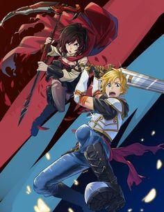 RWBY by mikkusushi on DeviantArt Dc Anime, Rwby Anime, Rwby Fanart, Anime Manga, Anime Art, Steven Universe, Rwby Jaune, Rwby Volume, Rwby Red