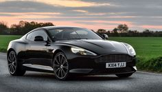 Aston Martin DB9 Carbon Black | 10 Luxury Cars in Black for a Night on the Town [SLIDESHOW]