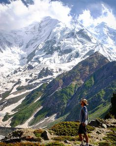 Rakaposhi, 27th highest peak in the world and 11th highest peak in Pakistan is located in the heart of Hunza valley in the north of Pakistan. Access to this peak is so easy that you just need hardly 7 hours trek from Hunza valley which is just two hours drive from Gilgit Airport.  We offer exclusive tours for the tourists from around the world.  WhatsApp: +92 3133977314 Hunza Valley, Gilgit Baltistan, Pakistan Travel, Adventure Tours, Mountain Range, 7 Hours, Beautiful Paintings, Mount Everest, Trek
