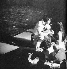 Elvis and Priscilla at the Las Vegas Hilton, August 14, 1970