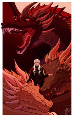 Favorites Countdown: Daenerys Targaryen by naomimakesart on DeviantArt Game Of Thrones Quotes, Game Of Thrones Art, Daenerys Targaryen Art, Khaleesi, Game Of Thrones Wallpaper, Game Of Thrones Instagram, The Mother Of Dragons, Throne Of Glass, Norse Tattoo