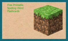Roundup of Free Minecraft Printables Includes Spelling, Algebra, Multiplication, Reading Logs and More, ALL FREE