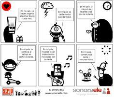 Humor gráfico: ¡Hazlo tú mismo! - De Clara Sánchez Marcos (Sonora ELE), PLE & PLN - Un enfoque para la docencia y el aprendizaje de E/LE.