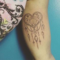 #tattoo #tatuagem #ink #heart #iemanja #shell #inked #binghatattoo #instainspiredtattoos #tattoos