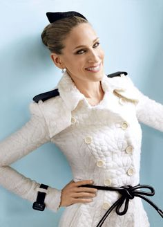Sarah Jessica Parker Photographed by Mario Testino, Vogue, April 2011