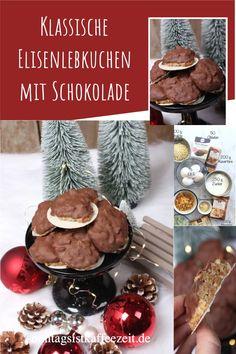 """Diese Elisenlebkuchen sind der ultimative Weihnachtskeks. Sie sind ohne Mehl und ohne Butter, aber sie haben eine wundervolle kaubare Textur und sind voll mit Nüssen, kandierter Zitronenschale, Gewürzen und einem Hauch Zitrone. Dieser """"Weihnachtskeks"""" ist einer meiner Favoriten aller Zeiten, und wenn du ihn einmal probiert hast, glaube ich, dass er auch einer deiner Favoriten sein wird. #Elisenlebkuchen #Lebkuchen #plätzchen#weihnachten #backen #rezepte Fabulous Foods, Butter, Desserts, Christmas Home, Navidad, Lemon, Schokolade, Tailgate Desserts, Deserts"""