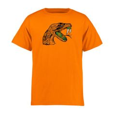 Florida A&M Rattlers Youth Classic Primary T-Shirt - Orange