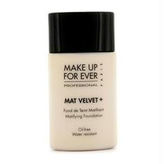 MAKE UP FOR EVER Mat Velvet  Matifying Foundation No 20  Ivory 101 oz ** Check out this great product.